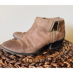 Shoes - Brown suede ankle boots